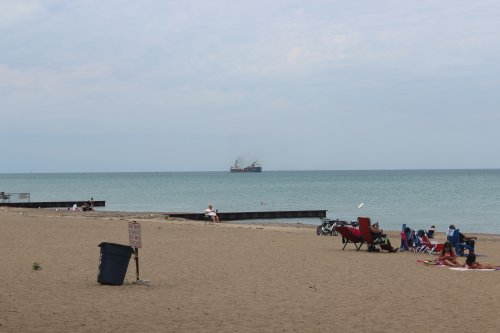 Lighthouse Beach and Park, Port Huron, Michigan