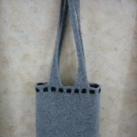 Carly's felted bag